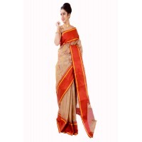 Tussar Silk Golden