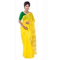 Silk Jamdani Yellow